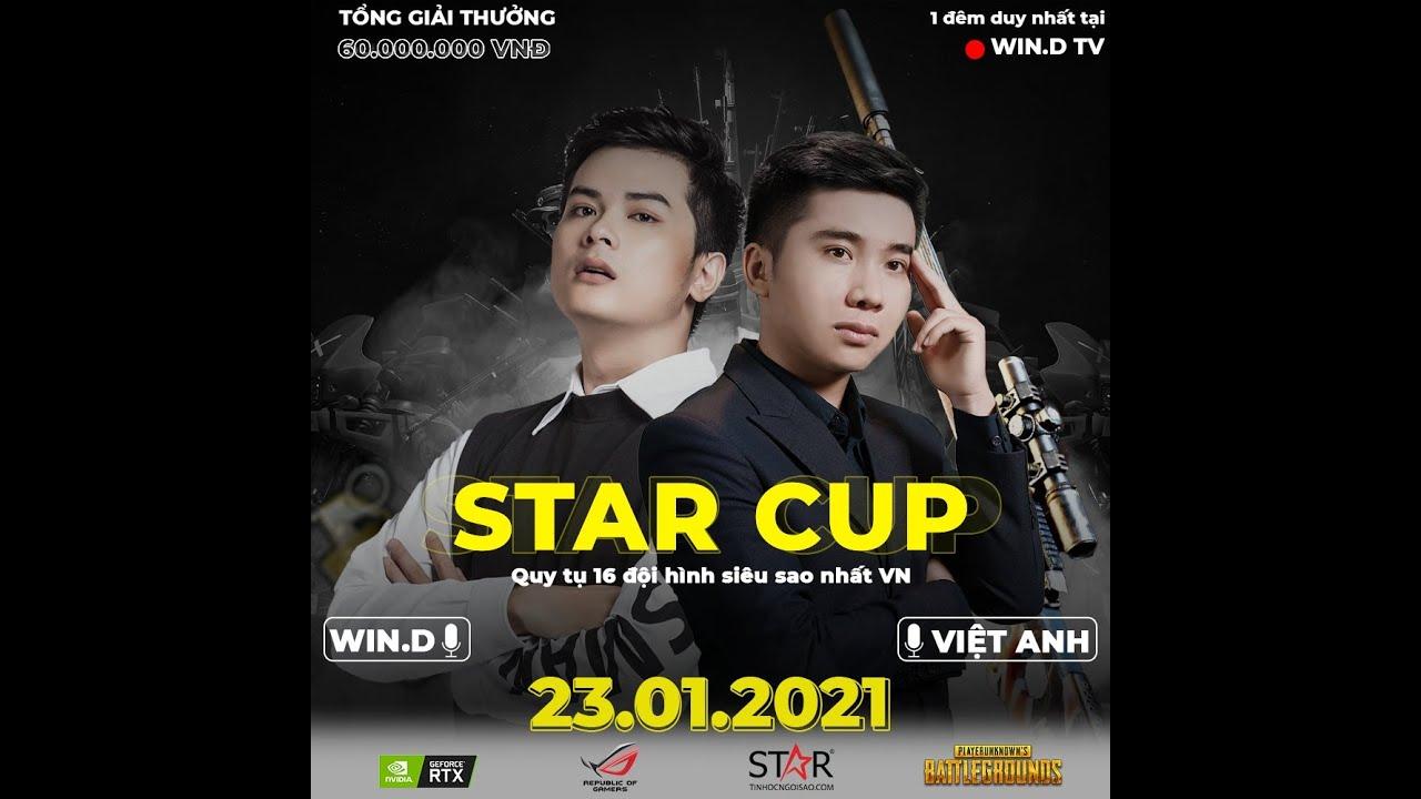 [ Trực tiếp ] Giải  STAR CUP PUBG 2021 - Quy tụ 16 Đội ngôi sao Việt Nam