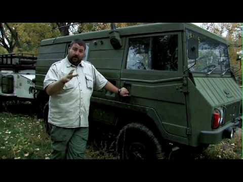 Overland Journey Reviews the Pinzgauer