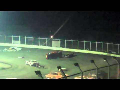 Kennedale Speedway Park Trailer Race Rollover