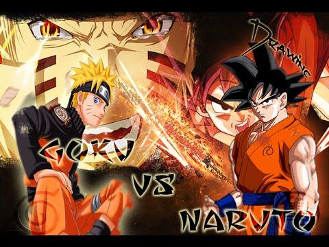 Goku vs Naruto Dibujando a Goku  Naruto  YouTube