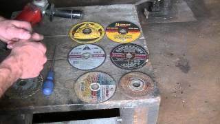Абразивные круги диаметром 125 мм по металлу.Характеристики.BODY REPAIR(Краткий расклад по кругам для металла , применение , некоторые характеристики , советы. Заработать на YouTube..., 2014-07-04T02:43:29.000Z)