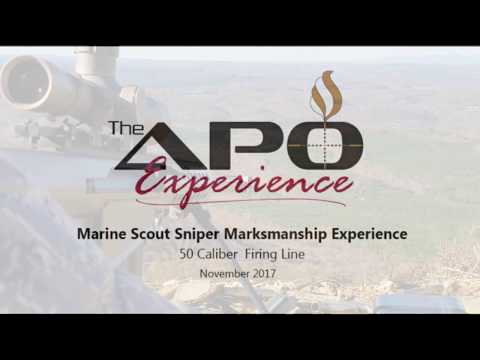 APO Marine Scout Sniper Marksmanship Experience