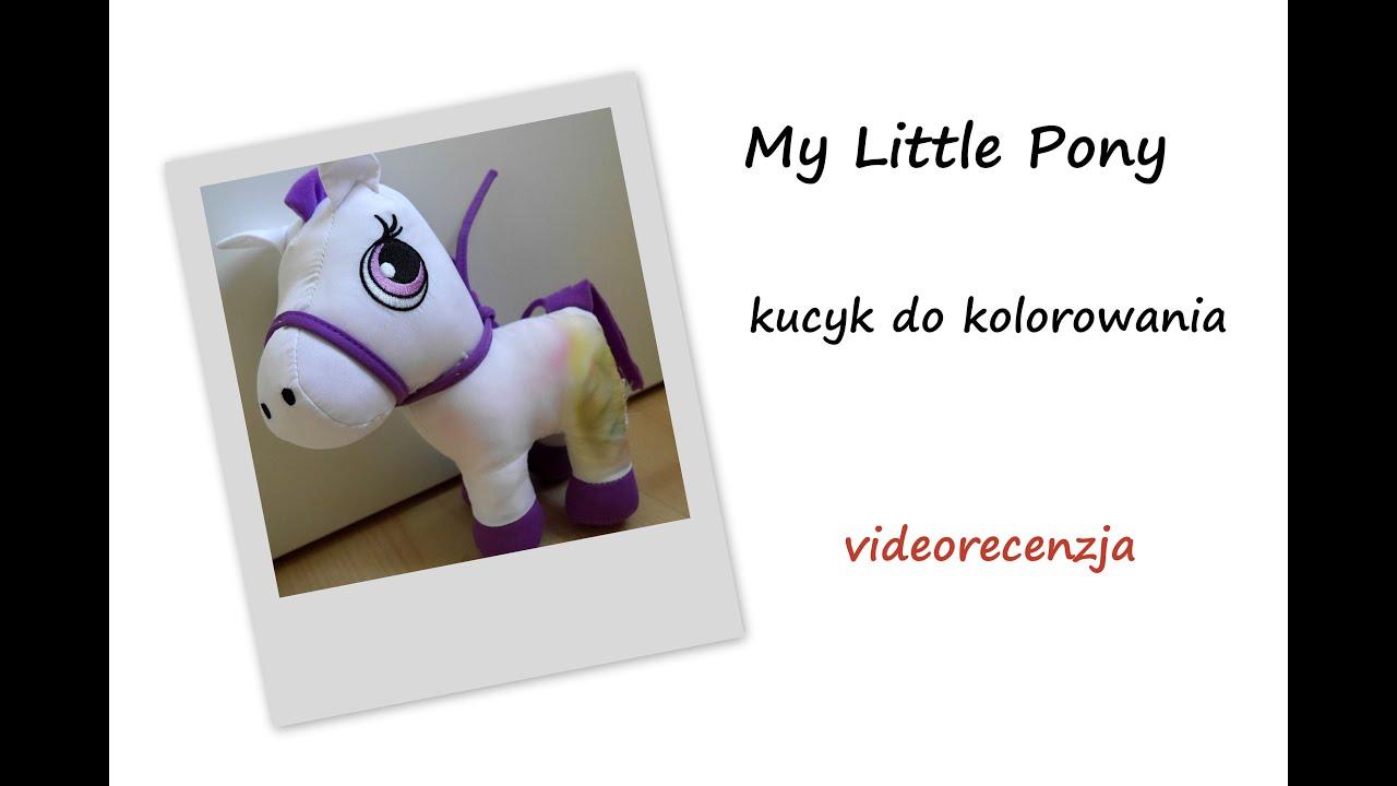 73a5702f838b Maskotka My Little Pony do kolorowania - videorecenzja - YouTube