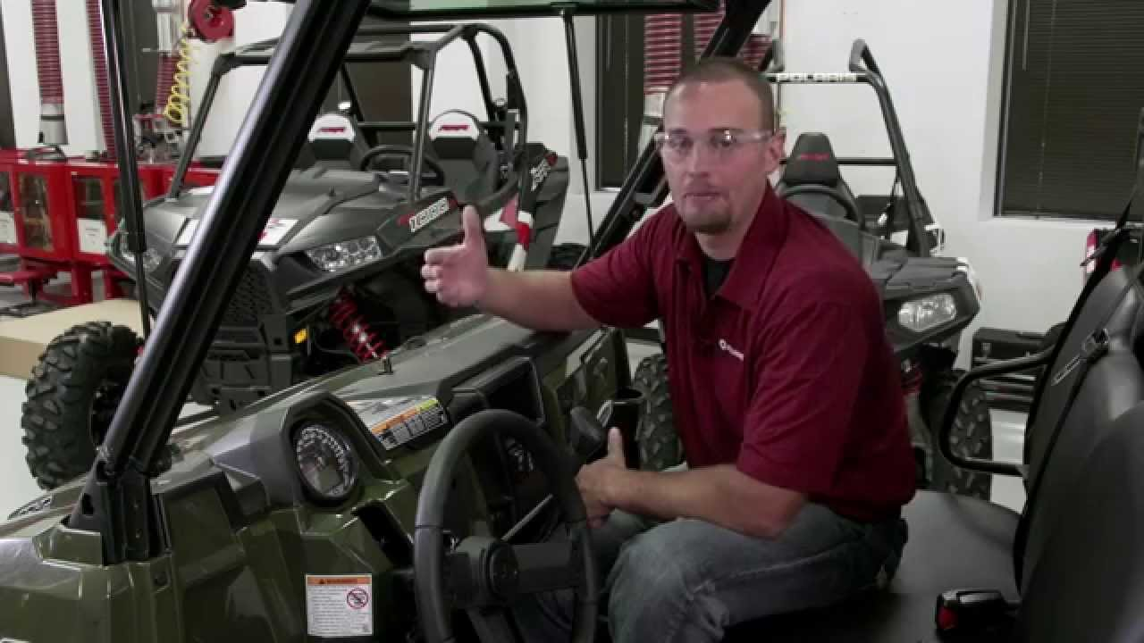 Ranger Xp 174 900 Tip Out Glass Windshield Install Polaris
