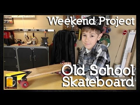 How to make an Old School Skateboard
