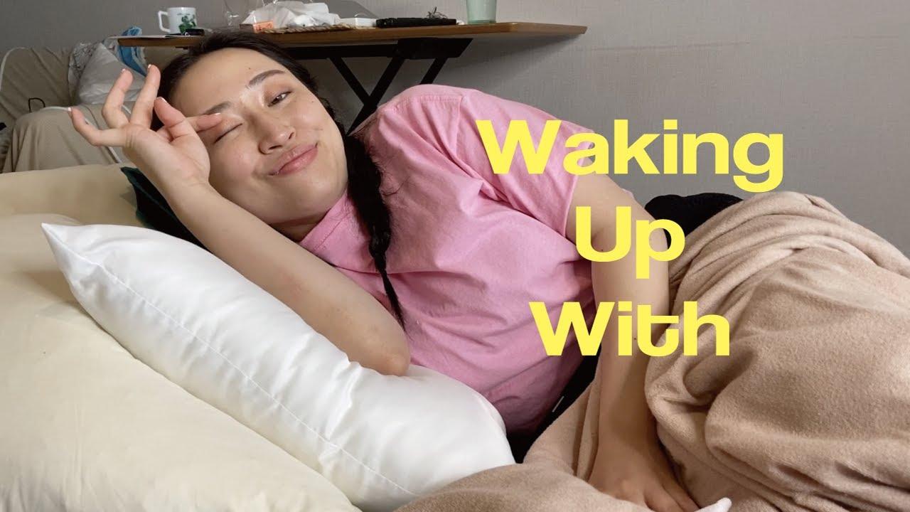 暇すぎて海外セレブのモーニングルーティン完コピしてみた This Is Dove Cameron's Morning Routine | Waking Up With... | ELLE