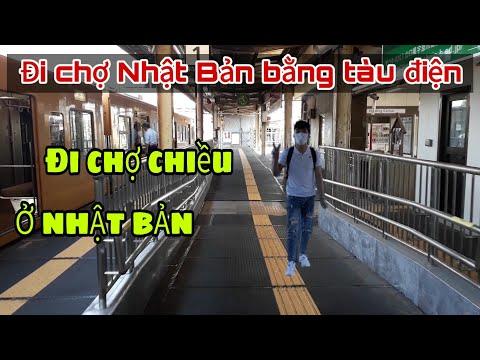 #98 |Đi Chợ Chiều Ở Nhật Bản Bằng Tàu Điện | Cuộc Sống Ở Nhật || Đức Thư Vlogs