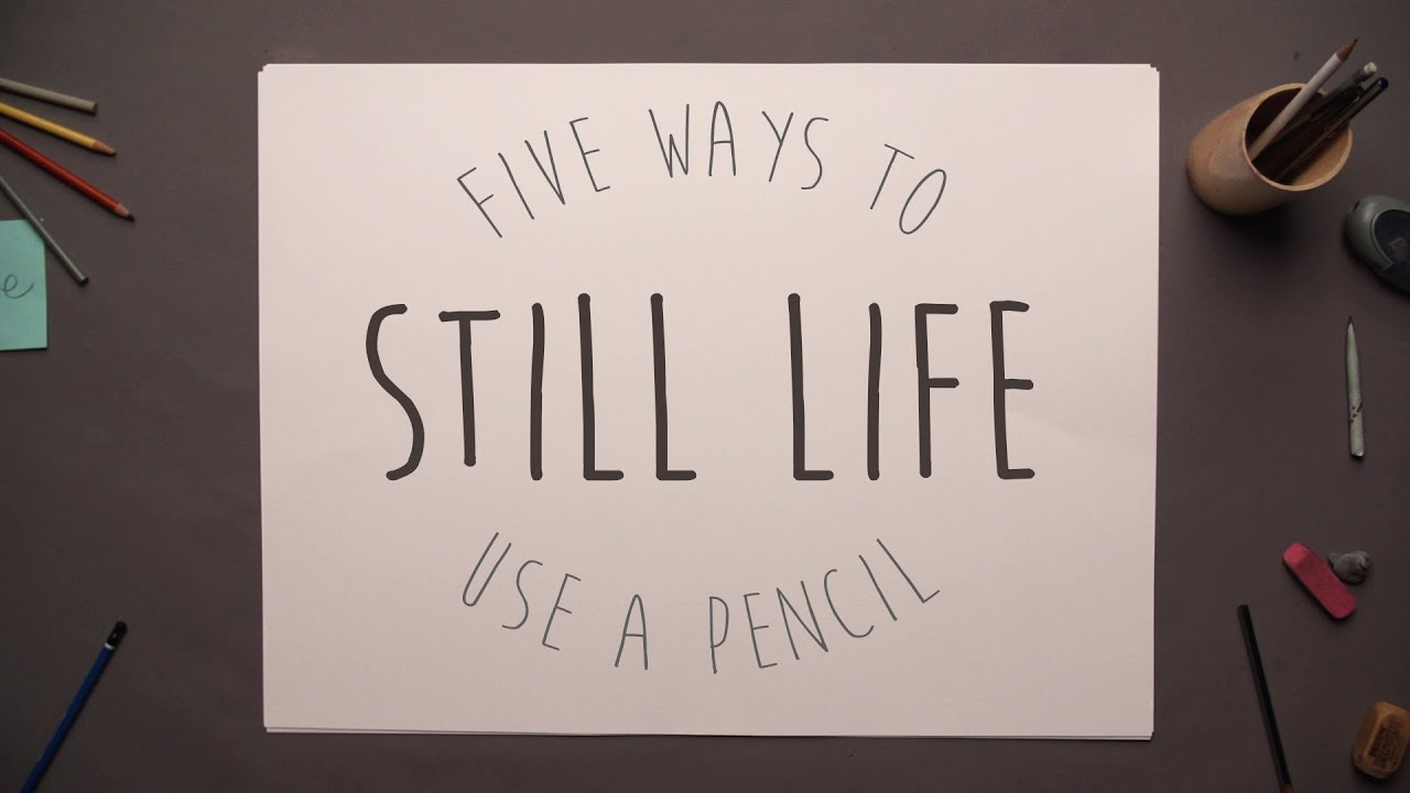 5 ways to use a pencil