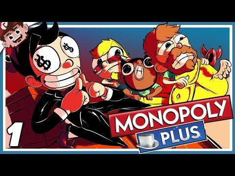 MONOPOLY RETURNS! | Couch Co-Op Swindling! (Monopoly Plus Derp Crew - Part 1)