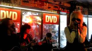 Michael Monroe - Hammersmith Palais acoustic live @ Levykauppa Äx, Helsinki 24.3.2011