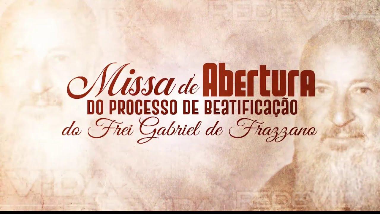 Missa de Beatificação de Frei Gabriel - 14/12/2020 | Presidida pelo Bispo Dom Paulo Mendes Peixoto