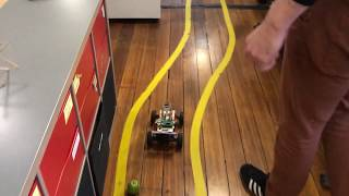 Gambar cover DonkeyCar: Self-driving scale RC car: Silverpond office 2019-07-31