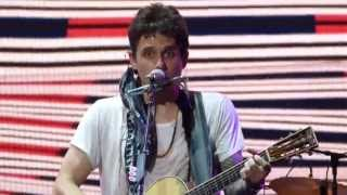 """Whiskey, Whiskey, Whiskey"" - John Mayer in Maryland Heights, MO on July 7th, 2013"