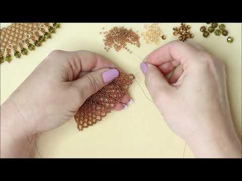 JewelleryMaker | Katie Parker Demo 5 Bead Netting