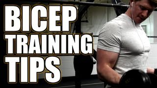 Bicep Training Tips - How To Get Bigger Arms