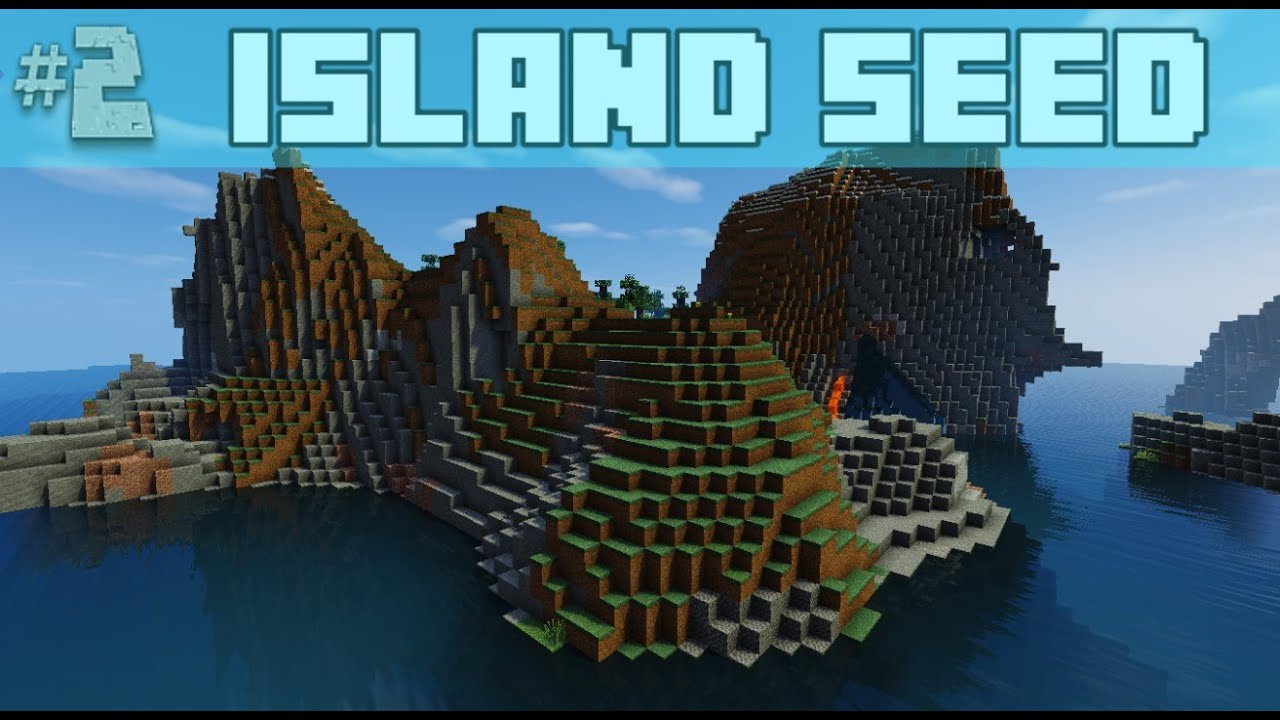 Cool, Large Island Minecraft Seed 1000.1000.1000, 1000.1000, 1000.10.1000 Good for Building