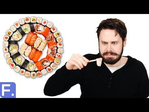 Irish People Taste Test Japanese Food