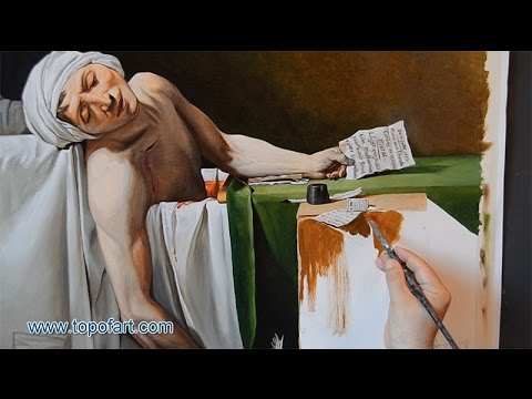David - The Death Of Marat | Art Reproduction Oil Painting