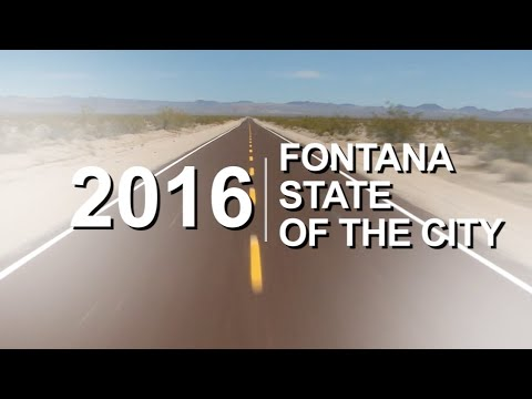 Fontana offers logistic companies, commercial property and storage facilities affordable land