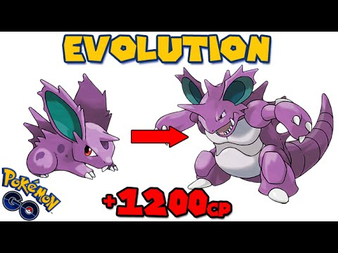 Evolving NIDORAN to NIDOKING (POKEMON GO EVOLUTION) - YouTube