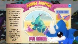 Animal Jam: Updates - Beta Party! & Rhino Shark ♥