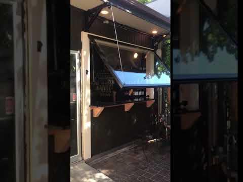 Custom Garage Door For A Food Cart By Central Oregon Garage Door