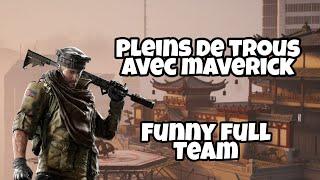 FUNNY KILLS AVEC MAVERICK - r6 [ps4] (full team)