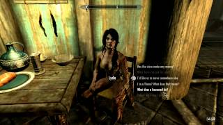 Skyrim - How to permanently remove Lydia's armor FOR PC ONLY