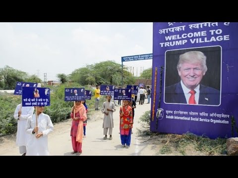 Vilarejo na Índia muda de nome para 'Trump Village'