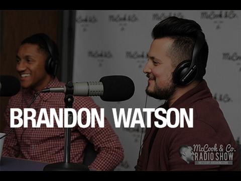 McCook & Co. Radio Show- Brandon Watson(Recording Artist) talks music, Stellar Awards,  & more