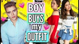 BOY BUYS GIRLS OUTFITS! Back to School Shopping Challenge 2017!
