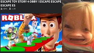 ROBLOX Toy Story 4 ESCAPE OBBY!!! ¿SOBREVIVIRÉ?