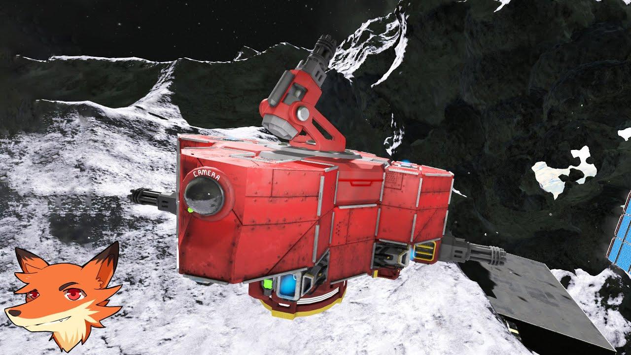 """Space Engineer - Survie #19 - Le nucléaire et un drone """"autonome""""!"""
