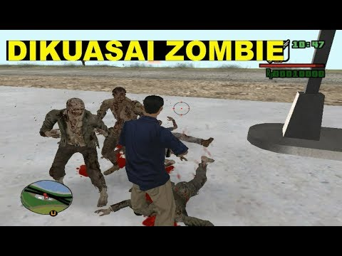 Kota Los Santos Di Gta San Andreas Dikuasai Oleh Zombie SEKARANG!!