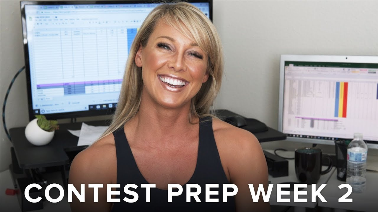 How to Set Up for a Contest Prep - Week 2 - By APD. Holly Baxter and Dr. Layne Norton