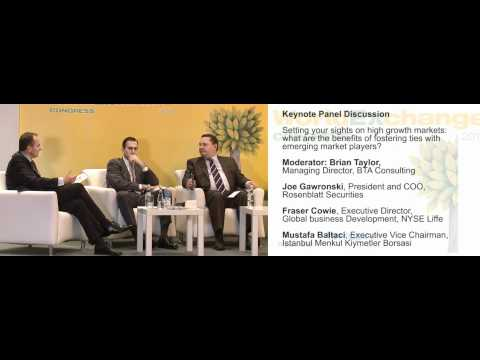 High growth markets: Fostering ties with emerging market players - World Exchange Congress