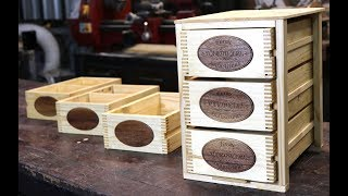 Pallet Wood DIY Hardware Boxes- FORME INDUSTRIOUS