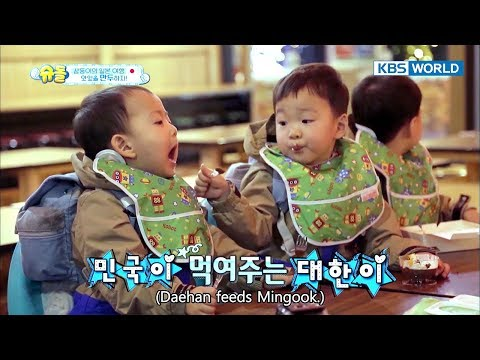 [1ClickScene] Daehan is natural-born big brother to Mingook&Manse!! (The Return of Superman Special)