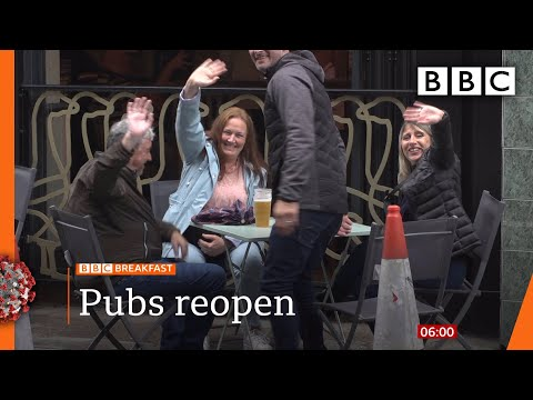 England has first night out since lockdown - Covid-19: Top stories this morning - BBC