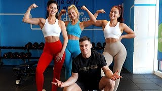 WHO IS STRONGER? Rob Lipsett vs Fitness Chicks