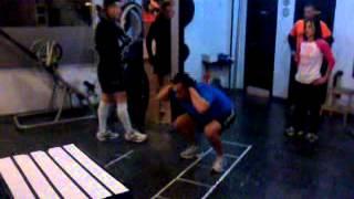 pliometria con salto al cajon de rodilla