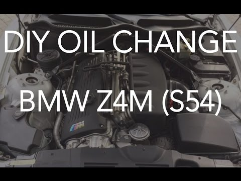 How to Change Your Oil in the BMW Z4M