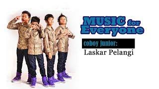 coboy junior cover laskar pelangi