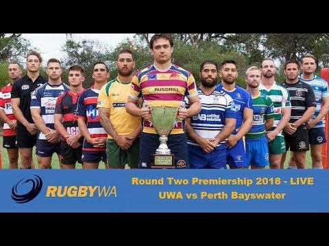 2018 Rugby WA Premiership Round 2 - UWA v Perth Bayswater