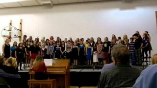 Download WMU Junior HIgh & High School Choir singing Toto- Africa MP3 song and Music Video