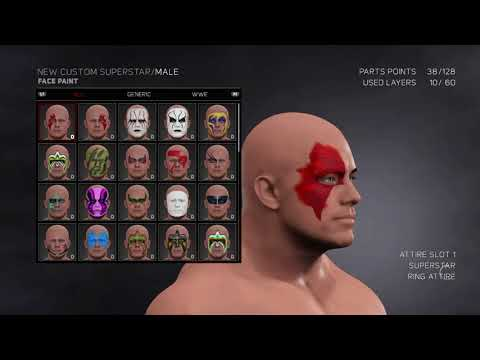 How to make part 4 Jason WWE 2K17