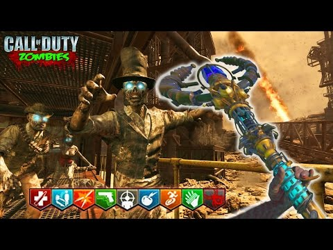 LIGHTNING STAFF IN BURIED REMAKE! - BLACK OPS 3 CUSTOM ZOMBIES MOD GAMEPLAY! (BO3 Zombies)