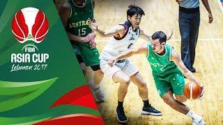 Japan v Australia - Full Game - FIBA Asia Cup 2017