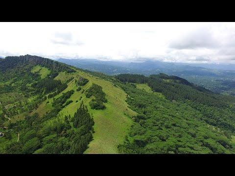 Hanthana Mountain Range   4K Aerial Kandy   GoPlaces Sri Lanka