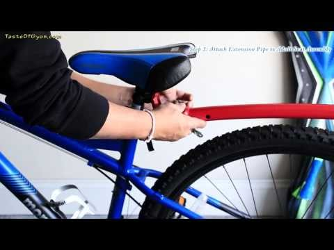 Amazing Trail Gator Child / Kid Bike Tow - Unboxing And How To Install Video